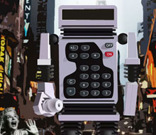 Calculator Robot