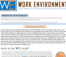 Work Environment Newsletter