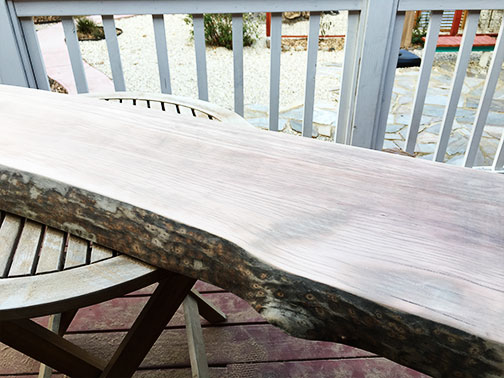 After some sanding